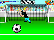 Johnny Bravo In Bravo Goalie game