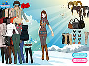 Sun Snow Dressup game