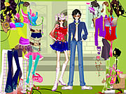 Rockstars Dress Up game