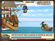 Play Veggietales jump ship Game