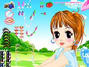 Anime Girl Makeover game