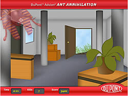 Ant Annihilation game