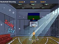Basketball Shooting game