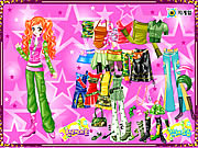 Ginger Star Dressup game