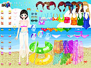 Sea Swimming Dressup game
