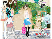 Summer Street Dressup game