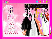 Umbrella Gown Dressup game