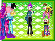 Play Extreme fashion dressup Game