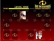 juego The Incredibles Mega Memory