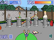 Recess Dodgeball game