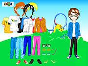 Themepark Boy Dressup game