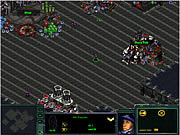 Starcraft Flash RPG game