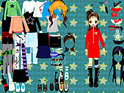 Party Doll Dressup game
