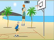 Air Raid Basketball game