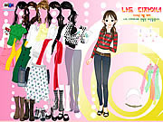 Play Nice girl dressup Game