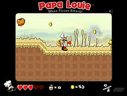 Papa Louie: When Pizzas Attack game
