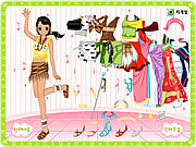 Play African dressup Game