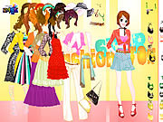 Tina Gown Dressup game