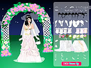 Night Bride Dressup game