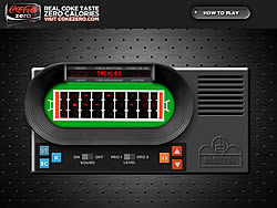 Coke Zero Classic Football game