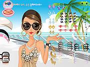 Summer Dress Up game