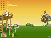 Play Flight of the hamsters Game