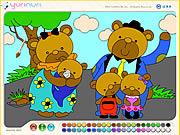 Play Bear family Game