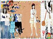 Shopping Girl Dress Up game