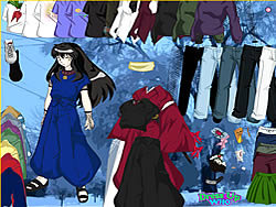 Inuyasha Dress Up game