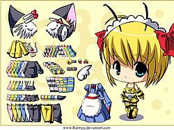 Dressup Bee game