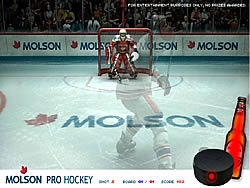 Molson Pro Hockey game