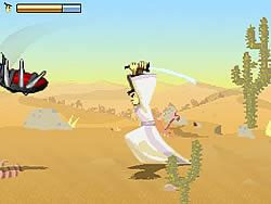 Samurai Jack: Desert Quest game