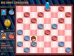 Big Shot Checker game