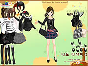 Black Fashion Dress Up game