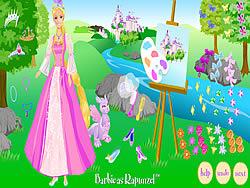 Barbie as Rapunzel game