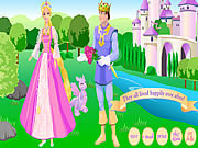 Play Barbie as rapunzel Game