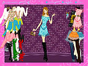 Play Flower clothing dressup Game