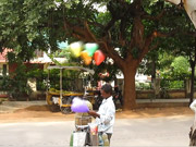 Watch free cartoon Time Lapse of a Balloon Vendor