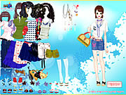 Play Bold fashion dress up Game