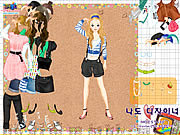 Play Belts and jewels dress up Game