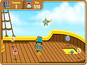 Dora's Pirate Boat Treasure Hunt game