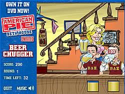 American Pie - Beer Chugger game