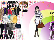 Rainbow Boots Dress Up game