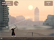 เล่นเกมฟรี Little John's Archery 2