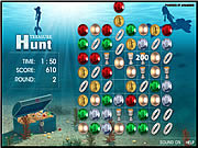 Play Treasure hunt game Game