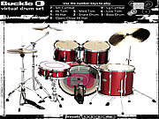 Virtual Drums game