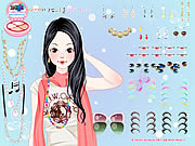 Play Melody dressup Game