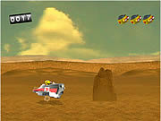 Nuts & Scrap Desert Race game