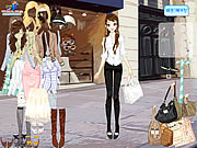Front of Shop Dressup game