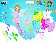 Fairy Naida Dressup game